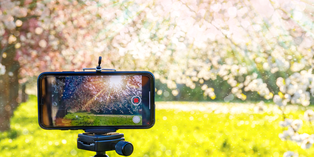 mobile videography image lighting