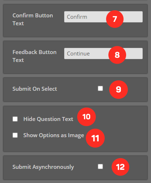Cinema8 Articles - Interactive Video, Single Select Question Element 5