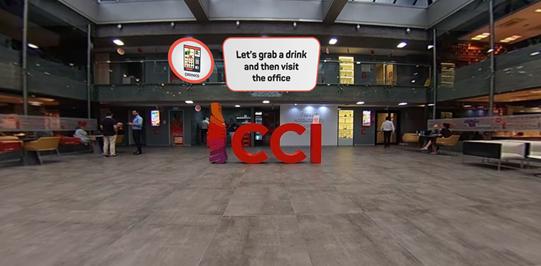 Coca Cola Interactive Office Orientation  - Cinema8 Interactive 360° Video Guide 1