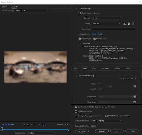 Blog - 360° Video Render Tips for Cinema8 6