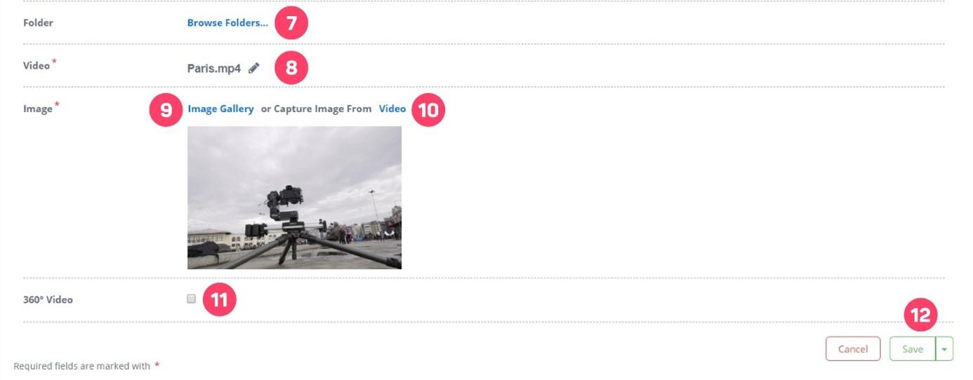 Create 360° Interactive Video Project 3 - Cinema8 Interactive 360° Video Guide