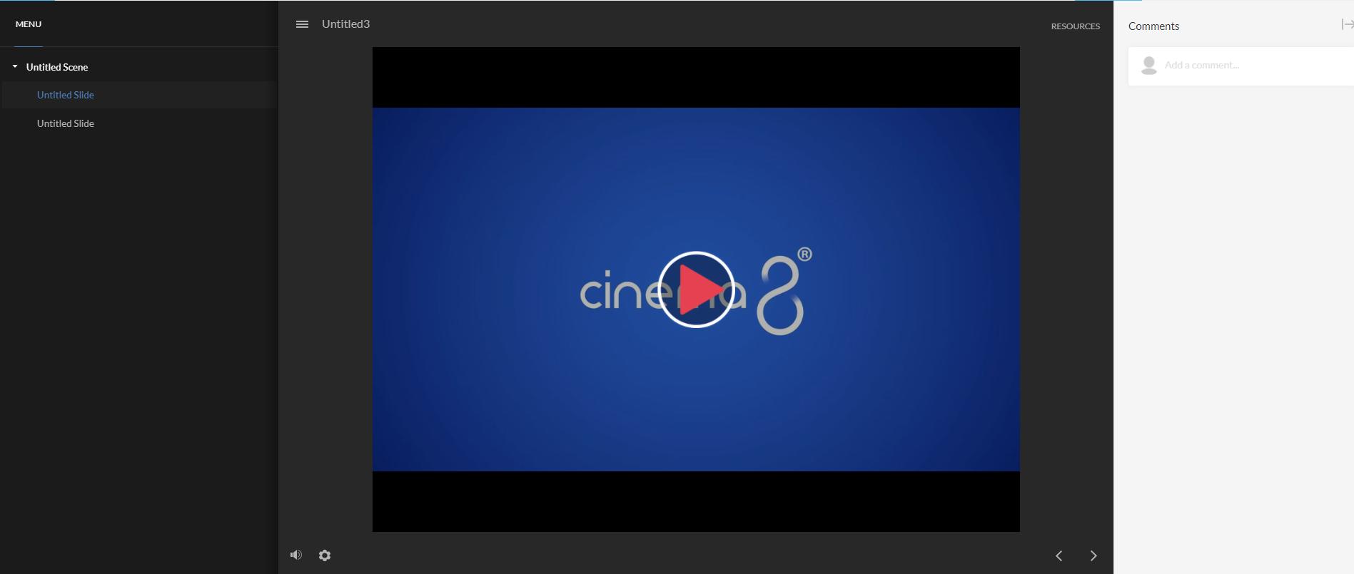 Embedding Cinema8 Interactive Videos on Articulate Storyline8_11