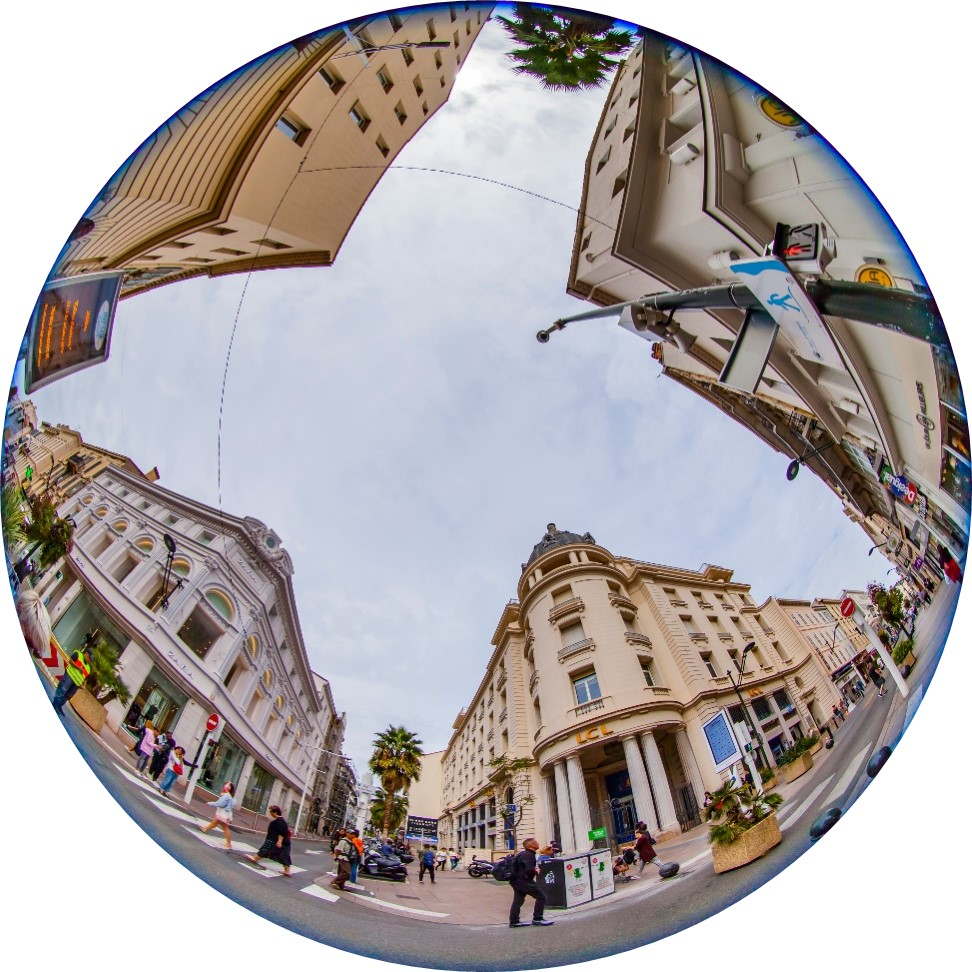 How to Export 360°Video Display from the Camera, Fisheye - Cinema8 Interactive 360° Video Guide