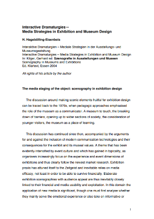 Interactive Dramaturgies - New Approaches in Multimedia Content and Design, a article about interactive video
