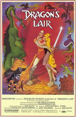 Cinema8 Guide - Dragon's lair interactive movie