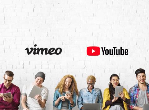 Youtube veya Vimeo videolarında etkileşimler tasarlayın.